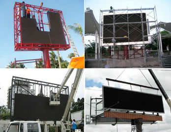 الصين P8 SMD Mobile Outdoor Advertising LED Display High Brightness Epistar LED Chip المزود