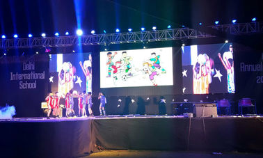 الصين Big Advertising Led Display Screen , High Refresh Rate Led Video Screen Rental المزود