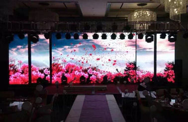 الصين Outdoor Full Color Led Display Energy Saving , P3.91 P4.81  HD Led Stage Display Screen مصنع